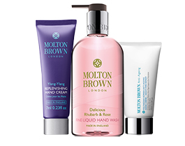 Molton Brown Handwashes & -Lotions