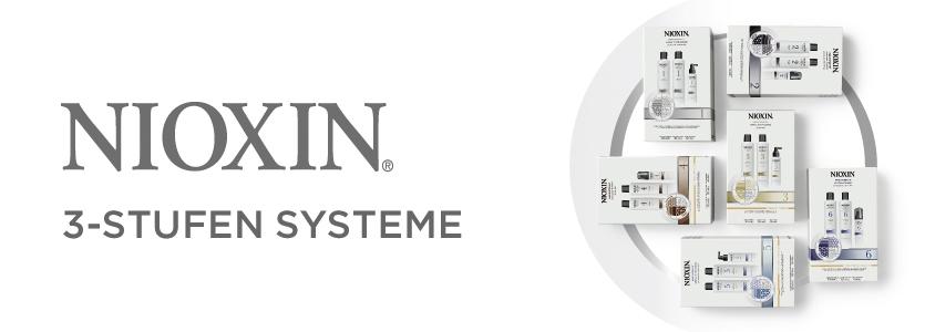 Nioxin 3-Stufen Systeme