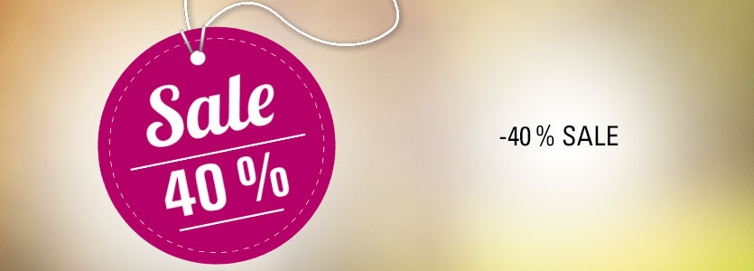 Sale 40%