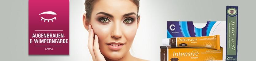 Augenbrauen- & Wimpernfarbe