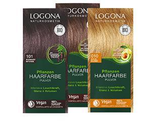 LOGONA Pflanzen-Haarfarben