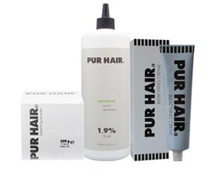 PUR HAIR. Bleaching & Developer