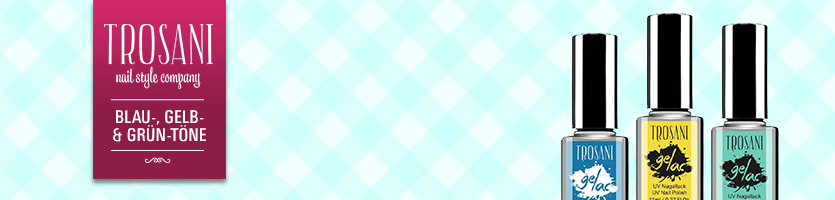 Trosani Blau-, Gelb- & Grün-Töne