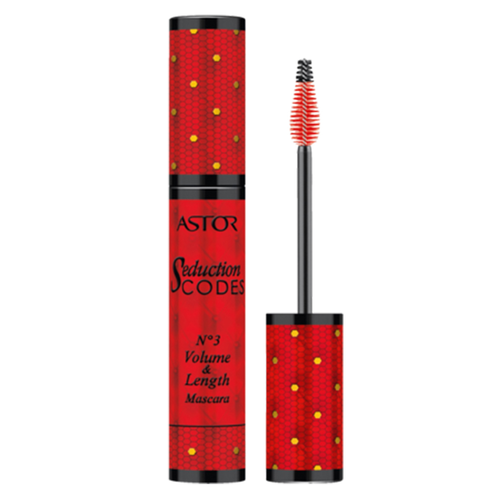 ASTOR SeductionCodes No.03 Volume und Length Mascara Black