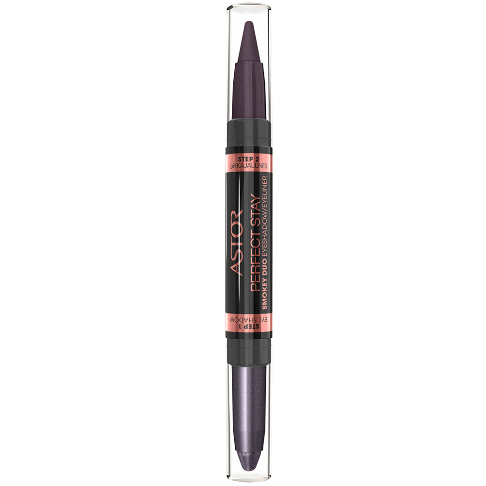 ASTOR PerfectStay Smokey Duo Eyeshadow Eyeliner Pen Smokey Purple 1 g