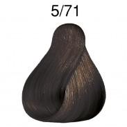 Wella Koleston Deep Browns  5/71 hellbraun braun-asch 60 ml