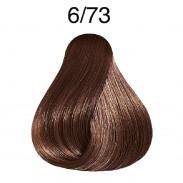 Wella Koleston Deep Browns 6/73 dunkelblond braun-gold 60 ml