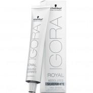 Schwarzkopf Igora Royal Absolute SilverWhite Tonal Refiner Schiefer-Grau 60 ml