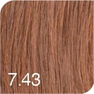 Revlon Revlonissimo Colorsmetique Color & Care 7,43 Mittelblond kupfer gold 60 ml