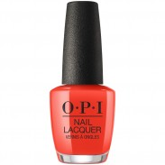 OPI LISBON Nail Laquer A Red-vival City 15 ml