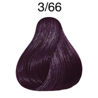 Wella Color fresh 3/66 Dunkelbraun violett-intensiv 75 ml
