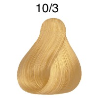 Wella Koleston Rich Naturals 10/3 hell-lichtblond gold 60 ml