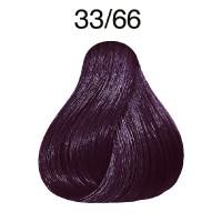 Wella Koleston Vibrant Reds 33/66 dunkelbraun-intensiv violett-intensiv 60 ml