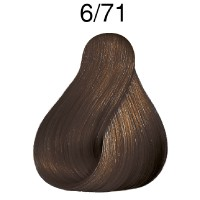 Wella Color Touch Deep Browns 6/71 dunkelblond braun-asch 60 ml
