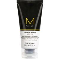 Paul Mitchell Mitch Double Hitter Shampoo & Conditioner 75 ml