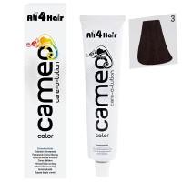 Cameo Color Haarfarbe 3 dunkelbraun 60 ml