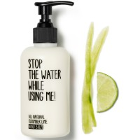 Stop the water while using me! All natural Cucumber Lime Hand Balm 200 ml
