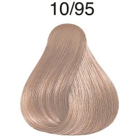 Wella Koleston Rich Naturals 10/95 Hell-lichtblond cendré-mahagoni 60 ml