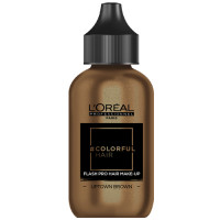 L'Oréal Professionnel Flash Pro Hair Make Up Uptown Brown 60 ml