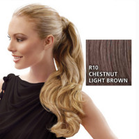 Hairdo Wrap Around Pony Wavy R10 Chestnut 57 cm