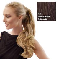 Hairdo Wrap Around Pony Wavy R4 Midnight Brown 57 cm