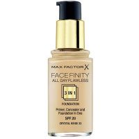 Max Factor Face Finity 3-In-1 Foundation 33 Crystal Beige 30 ml