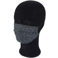 Solida Mund- und Nasenmaske 100% Polyester mit Ohrgummi, Dessin 13