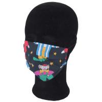 Solida Mund-  und Nasenmaske 100% Polyester mit Ohrgummi, Dessin 18