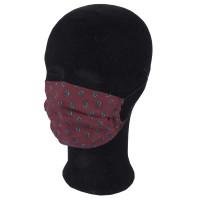 Solida Mund- und Nasenmaske 100% Polyester mit Bindeband, Dessin 12