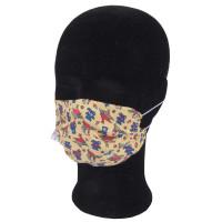 Solida Mund- und Nasenmaske 100% Polyester mit Bindeband, Dessin 15