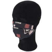 Solida Mund- und Nasenmaske 100% Polyester mit Bindeband, Dessin 16