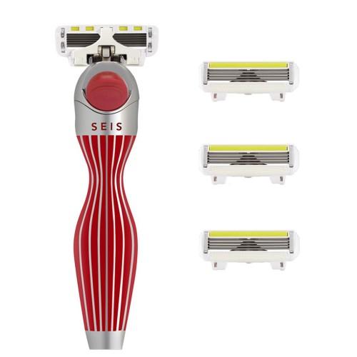 shave lab starter set seis fireglow rouge p l 4 women g nstig kaufen hagel online shop. Black Bedroom Furniture Sets. Home Design Ideas