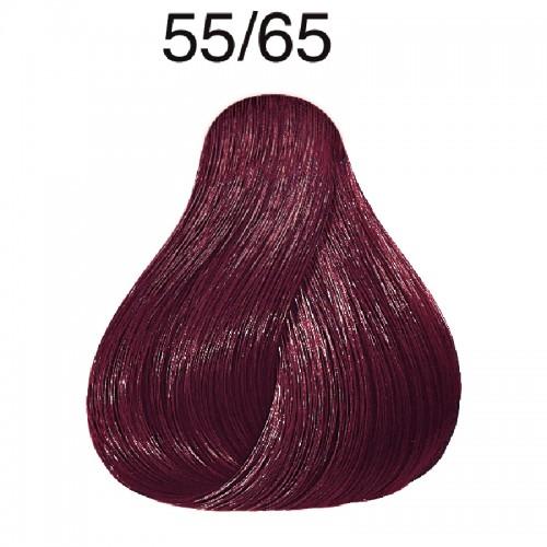 Wella Color Touch Vibrant Reds 55/65 hellbraun intensive violett-mahagoni