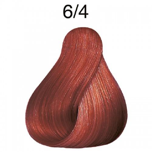 Wella koleston Dunkelblond 6/4  rot