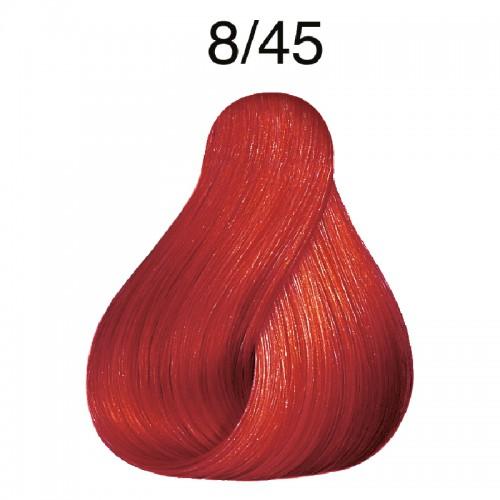 Wella koleston 8/45 Hellblond rot-mahagoni