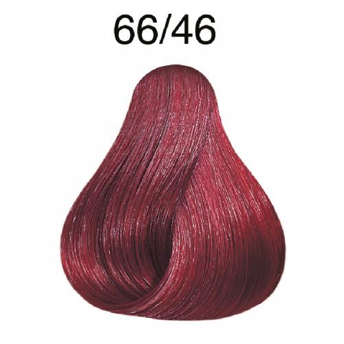 Wella koleston 66/46 Dunkelblond  intensiv rot-violett