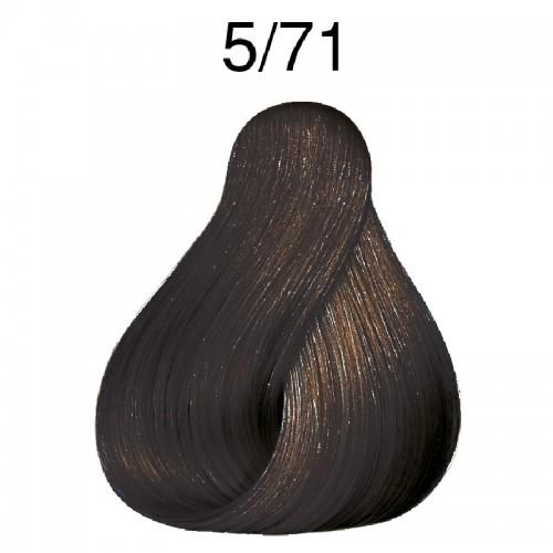 Wella Koleston  5/71 Hellbraun braun-asch