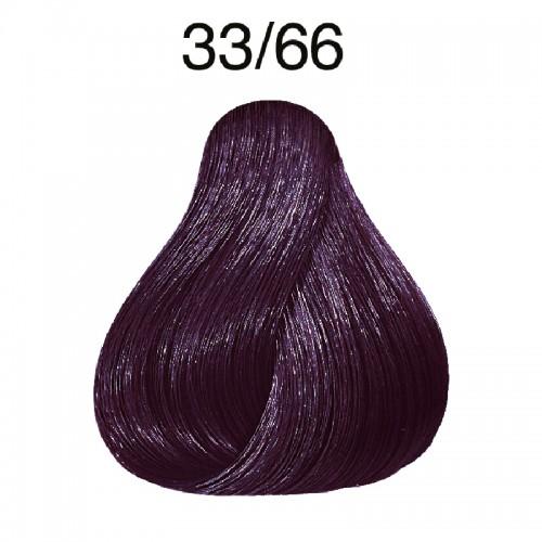Wella koleston 33/66 Dunkelbraun intensiv violett
