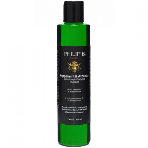 Philip B. Peppermint and Avocado Shampoo 220 ml