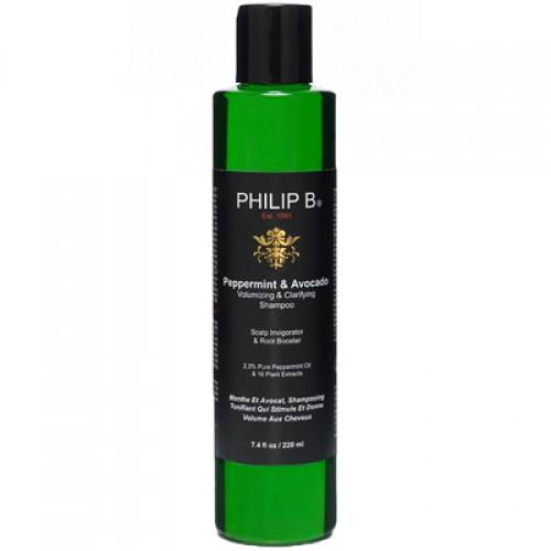 Philip B. Peppermint and Avocado Shampoo 220 ml