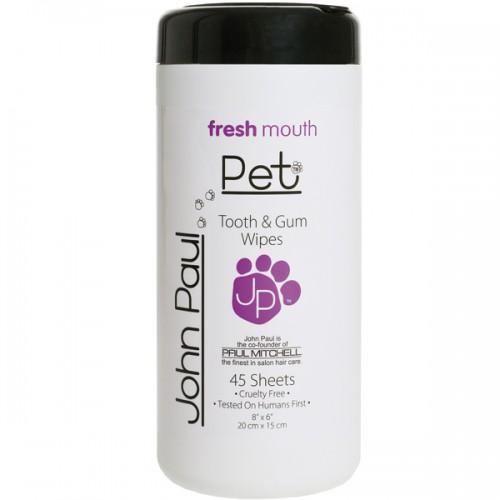 John Paul Pet Tooth & Gum Wipes