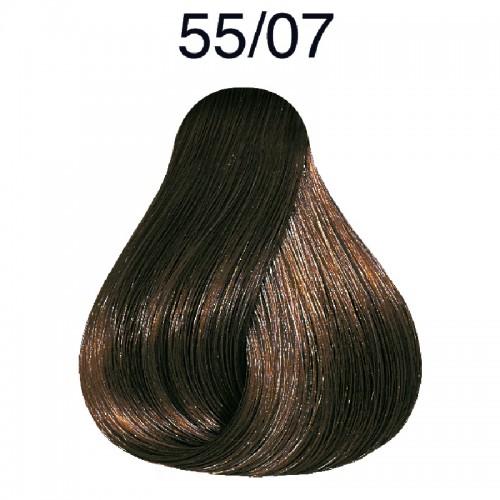 Wella Color Touch Plus 55/07 hellbraun-intensiv natur-braun