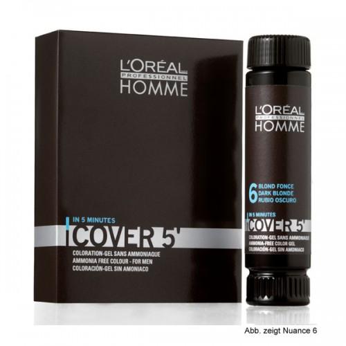 Loreal Homme Cover 5 Grauhaarkaschierung Dunkelbraun 50 ml