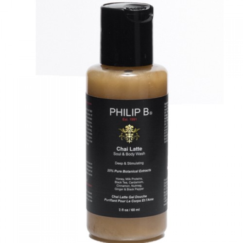 Philip B. Chai Latte Soul & Body Wash 60 ml
