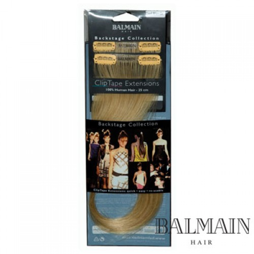 Balmain Clip Tape Extensions 25 cm Coffee Bean;Balmain Clip Tape Extensions 25 cm Coffee Bean