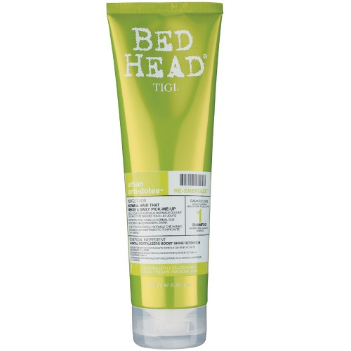 tigi bed head urban anti dotes re energize shampoo shampoo. Black Bedroom Furniture Sets. Home Design Ideas