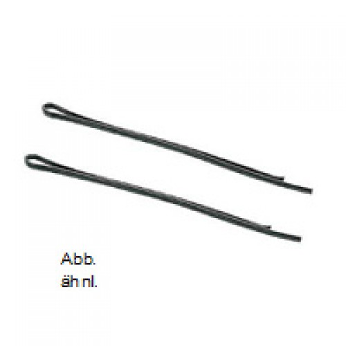 Efalock Marquis 4 cm schwarz 12 Stk Haarklemme