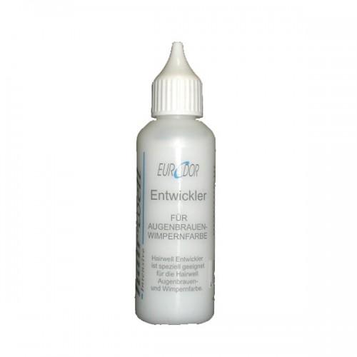 Hairwell Entwickler für Augenbrauen- und Wimpernfarbe 50 ml