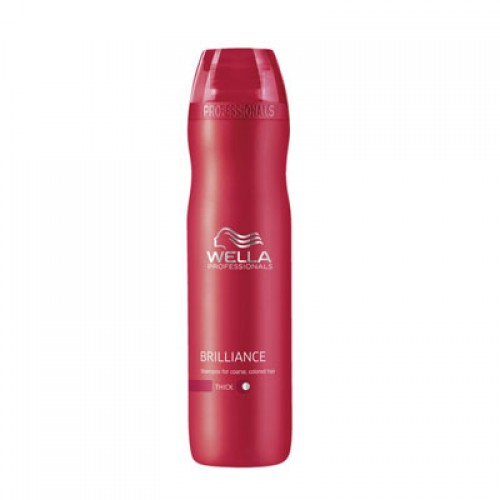 Wella Care³ Brilliance Shampoo kräftiges, coloriertes Haar