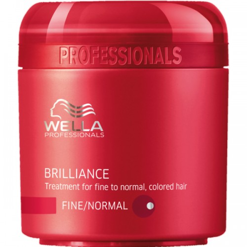 Wella Care³ Brilliance Mask feines/normales coloriertes Haar